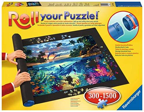 Ravensburger Roll your Puzzle - Puzzlematte für Puzzles mit bis zu 1000 Teilen, Puzzleunterlage zum Rollen, Praktisches Zubehör zur Aufbewahrung von Puzzles