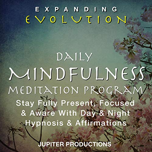 Daily Mindfulness Meditation Program audiobook cover art