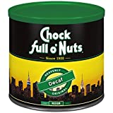 100% PREMIUM COFFEE BEANS – Chock Full o'Nuts ground coffee contains a rich blend of 100% premium coffee beans that have been roasted to perfection. Each cup delivers the delicious flavor and unmistakable aroma of Chock Full o'Nuts. ALL THE FLAVOR WI...
