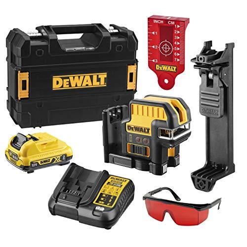 Dewalt DCE0825D1R-QW Linienlaser, DCE0825D1R, 10.8 V