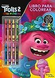 Trolls 2. Libro para colorear con ceras (Dreamworks. Trolls 2)