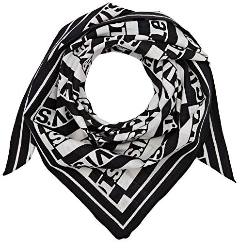 Levi's Herren REPEAT LOGO OVERSIZED BANDANA Tuch, Schwarz (Regular Black 59), one size