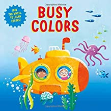 Busy Colors: Spin the wheel for a learning adventure! (Clever Wheels)