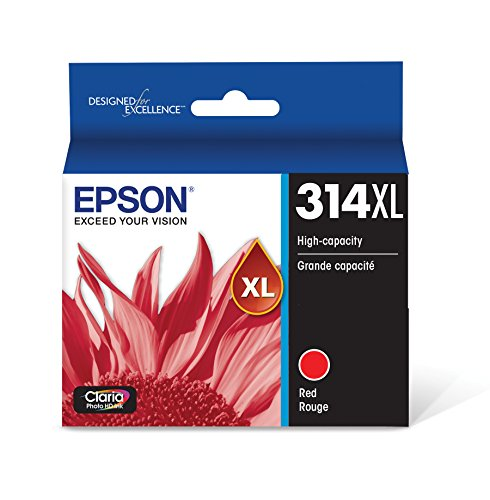 Price comparison product image T314XL Claria Photo HD Ink - Red (T314XL Red)