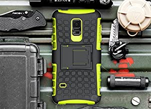 Cocomii Grenade Armor Galaxy S5 Mini Case New [Heavy Duty] Premium Tactical Grip Kickstand Shockproof Bumper [Military Defender] Full Body Dual Layer Rugged Cover for Samsung Galaxy S5 Mini (G.Green)