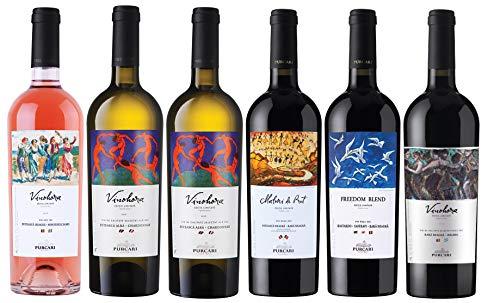 Chateau Purcari | Weinpaket Purcari Vinohora – verschiedene moldawische Qualitätsweine 6 x 0.75 L