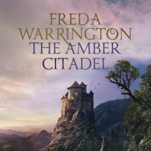 The Amber Citadel audiobook cover art