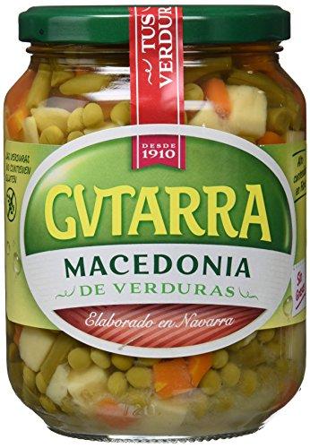 Gvtarra Macedonia de Verduras, Paquete de 6 x 450 Gramos