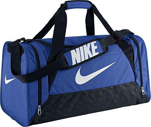 Nike Brasilia 6 Duffel Medium Game Royal/Black/White Size Medium