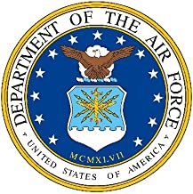 12 - United States Air Force Edible Image Cupcake Toppers