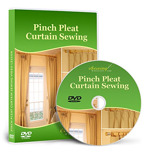 Pinch Pleat Curtain Sewing - Video Lesson on DVD
