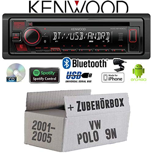 USB MP3 CD JUST SOUND best choice for caraudio Einbauset f/ür Audi A3 8L AKTIV Android Einbauzubeh/ör Bluetooth Autoradio Radio Pioneer DEH-S3000BT