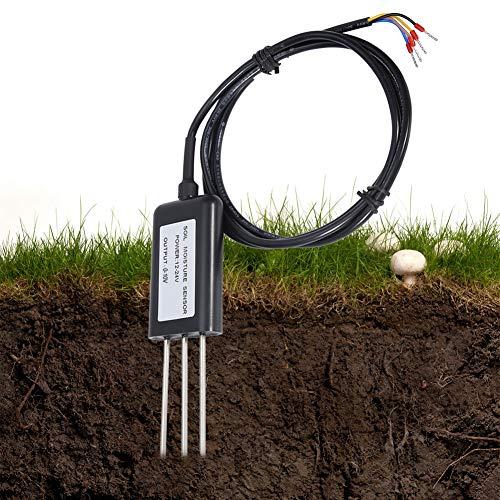Bodenfeuchtesensor, 0-10V 2-in-1 Bodentemperatur-Feuchtesensor Gardena Bodenfeuchtesensor-Sender