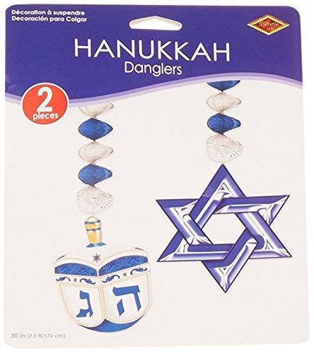 Hanukkah Danglers (2/Pkg)