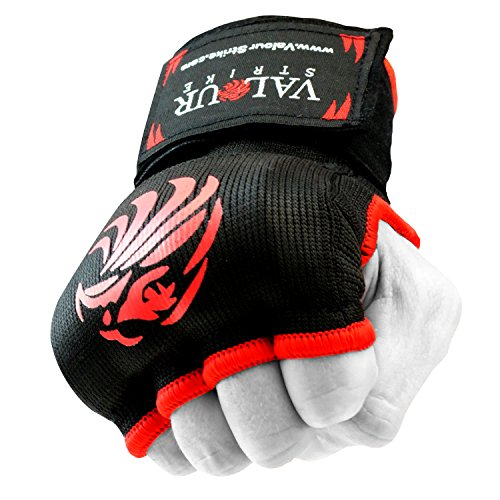 Valour Strike® Innenhandschuhe Pro Boxing, dehnbar, MMA-Faustschutz, Wickel für Muay Thai, Kickboxen, Training, Handbandage