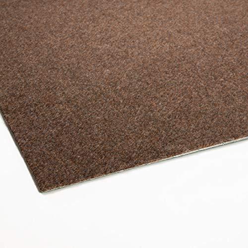 Rasenteppich Farbwunder Pro | Balkonteppich | Kunstrasenteppich für Terrasse, Balkon und Freizeit | Erhältlich in 7 Farben (200 x 350 cm, Braun)