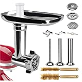 Best Meat Grinders - Semlos Food Meat Grinder Attachment, for KitchenAid St Review
