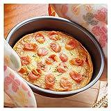 Molde Quiche Flan sartén Antiadherente for Hornear Pizza Pan Moldes Pie Cake Horneado bandejas Pan Tostado Caja de Pan del Molde Cuadrado de Pie Pizza Pan (Color : 3)