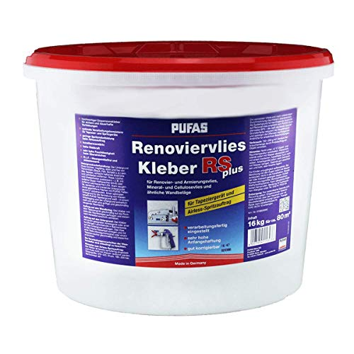 Pufas Renoviervlies-Kleber RS plus 16,000 KG