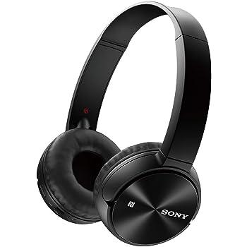Sony MDR-ZX330BT Cuffie Wireless On-Ear, Batteria fino a 30 Ore, Bluetooth, NFC, Nero