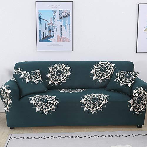 Funda de Spandex Universal Antideslizante para sofá, Funda de sofá elástica, Funda de sofá elástica para Sala de Estar A30, 2 plazas