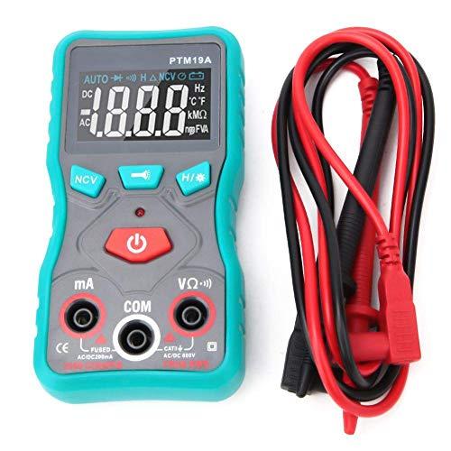 KANJJ-YU Digital Detector de voltaje digital, Mini inteligente de pantalla digital de mano VA multímetro AC/DC Voltaje Detector de corriente multímetros