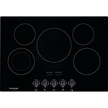 Frigidaire FGEC3068UB, Gallery Series, 30 Inch Electric Smoothtop Style Cooktop with 5 Elements in Black