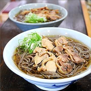 かほく冷たい肉そば 5食セット(スープ・親鶏付き)