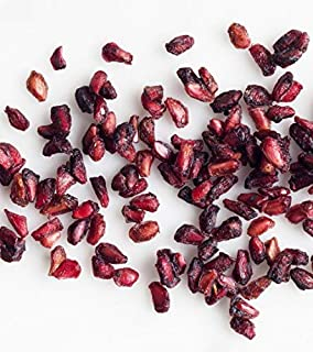 Dried Organic Pomegranate Arils - Northwest Wild Foods - Healthy Antioxidants Fruit - for Granola, Morning Snack, Baking, Trail Mix (8 oz)