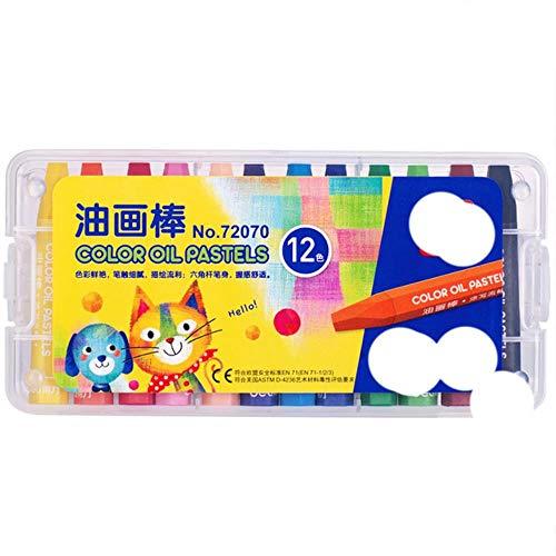 12/18/24/36 colores/caja Crayons Artist lápices de dibujo para niños profesional cera Crayon...