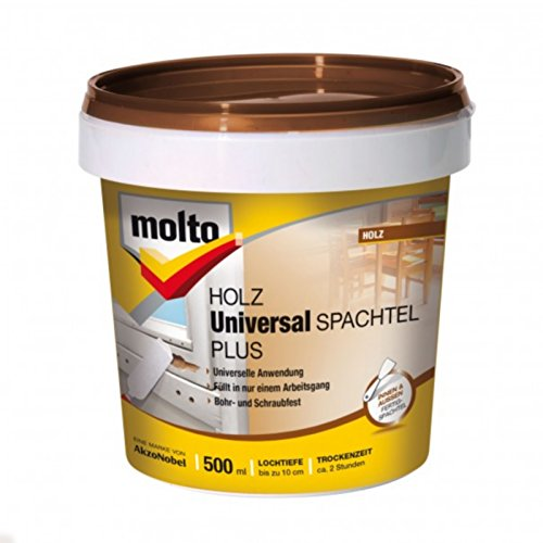 Molto Holz Universal Spachtel Plus, 500 ml