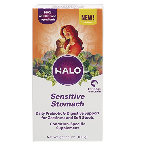 Halo Natural Supplements With Prebiotics For Dogs, Sensitive Stomach,...