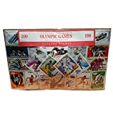 Olympic Games Stamp Set of 100 - from Around the World/All Different/Winter and Summer Sports/Historical Souvenir