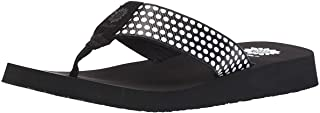 Yellow Box Women's Fromy Sandal, Black, 9.5 M US