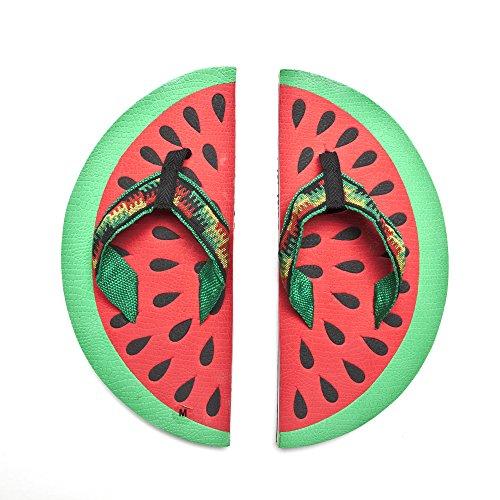 Beach Slippers Watermelon Flip Flops Summer Shower Shoes For Men Woman Kids S