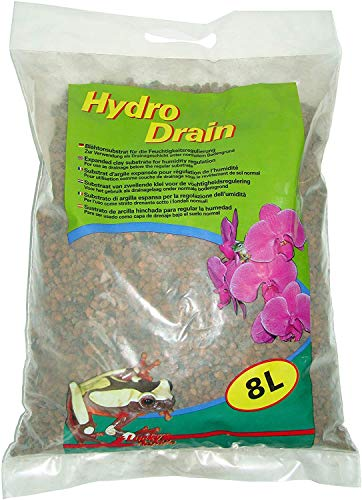 Lucky Reptile Hydro Drain 8 l, Drainagematerial für Bodengrund im Tropenterrarien
