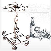 金属製のワインラック2瓶、カウンタートップの酒屋のための台所、パントリー、フリースタンドワインの貯蔵ホルダープロテクターの赤い白ワイン