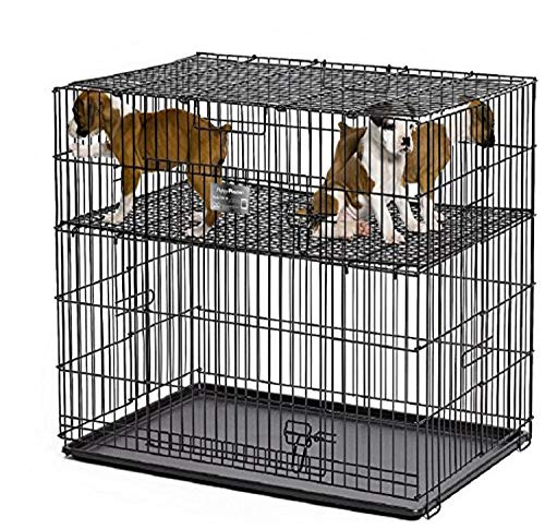 Midwest Homes Puppy Playpen Crate - 224-10 Grid & Pan Included AmazonPets Crates Dog from Kennels Playpens products Selection Selections Supplies Top