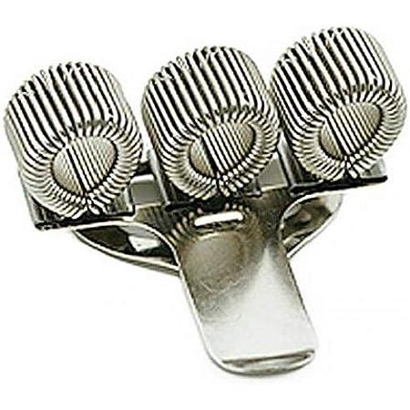 Titolare Triple metallo pen Con clip della tasca Home Office Fornitura infermiera medico legale Primavera clip portapenne