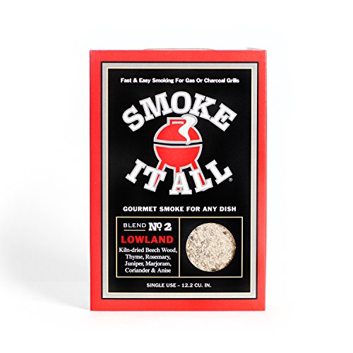 Smoke It All – Fast and Easy Smoking for Gas or Charcoal Grills - Lowland BBQ Smoke Blend, 3-Pack
