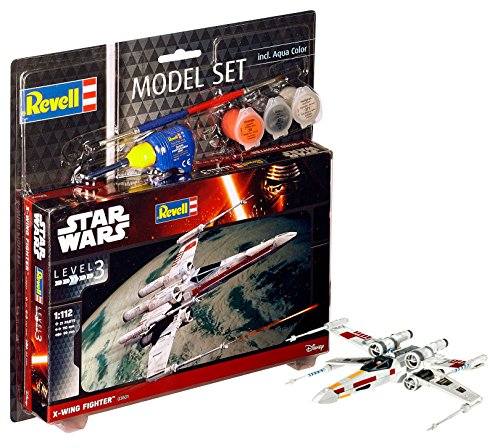 Revell 63601 - Star Wars X-wing Fighter Model Set, Includes Paints, Precision Glue & Paintbrush