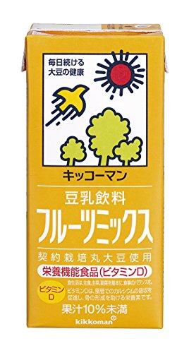 豆乳飲料 フルーツミックス 1L×6本 紙パック