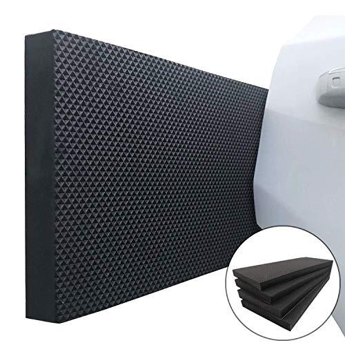 Ampulla Garage Smith Protector de Pared Garaje Coche Puerta Protectores, Diseñado en Alemania (Pack de 4)