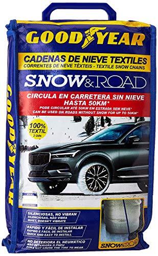 Goodyear GOD8021 Cadenas Snow & Road, Set de 2, Talla XL