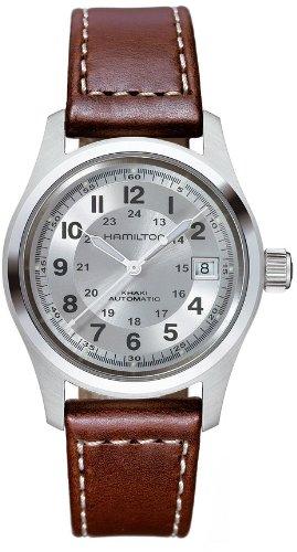 Hamilton Reloj Analogico para Hombre de Automático con Correa en Cuero H70455553