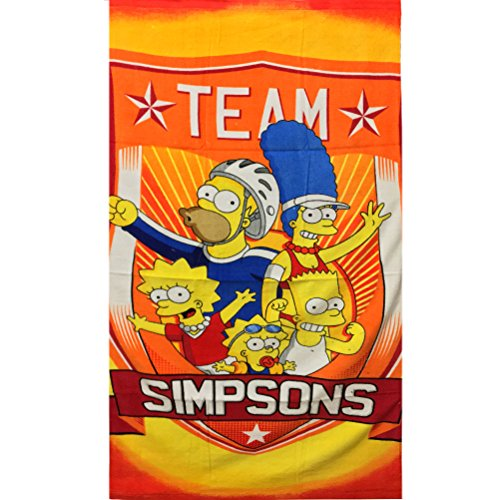 Strandtuch The Simpsons Team