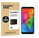 iVoler [2 Pack] Pellicola Vetro Temperato per LG Q7 / LG Q7 Plus/LG Q7 +, Pellicola Protettiva, Protezione per Schermo
