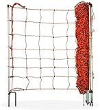 horizont Valla para perros, red para ovejas │ Altura 90 cm │ Longitud 50 m │ Doble punta │ Red para perros - red eléctrica