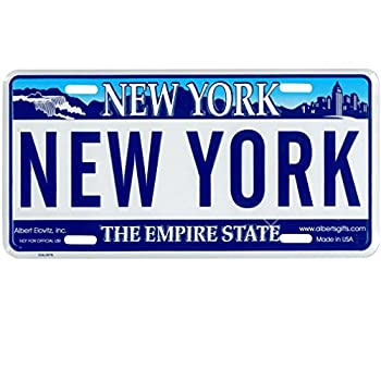 New York License Plate Novelty NY State Car License Plate - Full Size