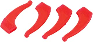 uxcell Silicone Glasses Spectacle Non-Slip Temple Tip Ear Hook 2 Pairs Red